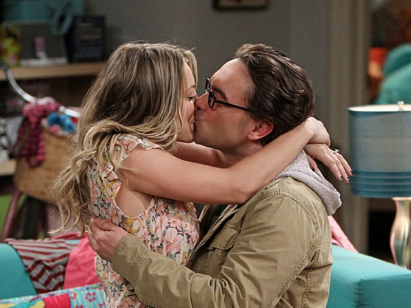10. Leonard Hofstader and Penny - The Big Bang Theory