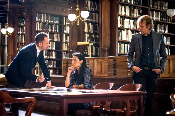 "Sherlock and Watson help Mycroft in ""The Grand Experiment"" S2E24"