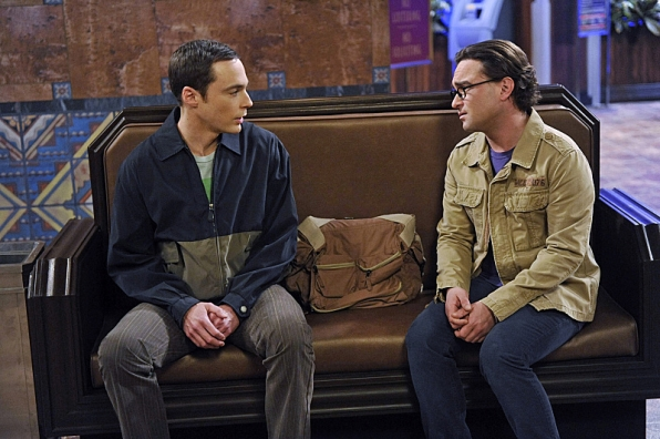 Sheldon and Leonard - The Big Bang Theory