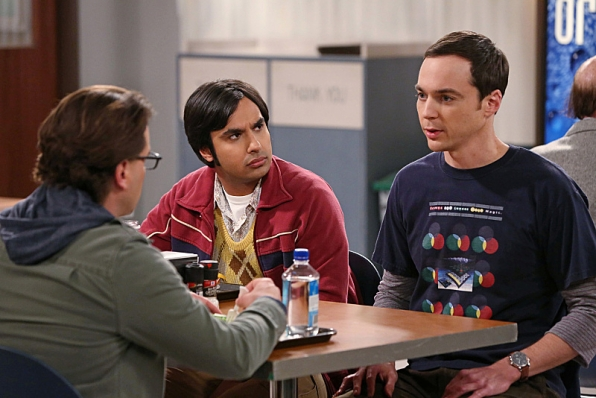 "Sheldon, Raj & Leonard in ""The Status Quo Combustion"" S7 E24"