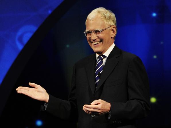 David Letterman - 2014 CBS Upfront Presentation