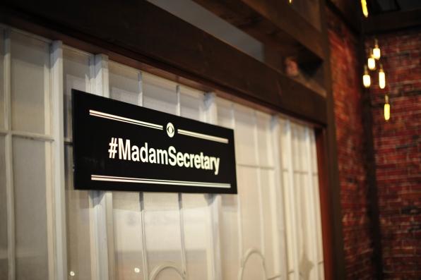 #MadamSecretary