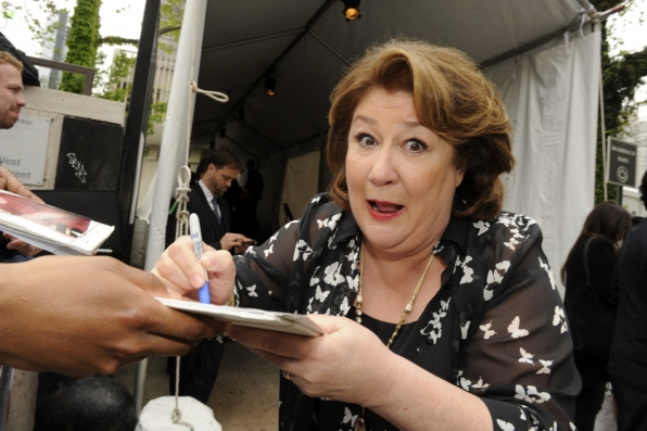 Margo Martindale Signing Autographs - 2014 CBS Upfront Presentation