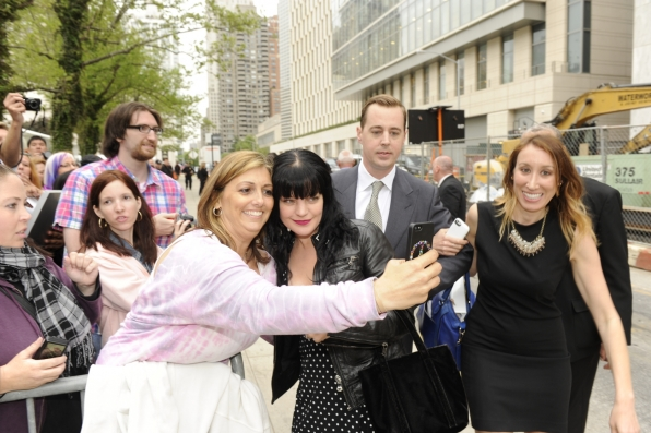 Pauley Perrette With The Fans - 2014 CBS Upfront Presentation