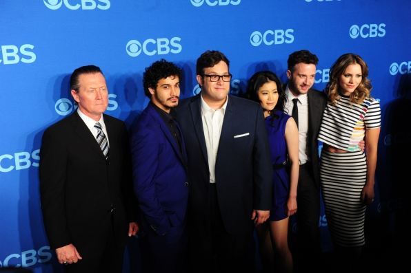 "The Cast of ""Scorpion"" - 2014 CBS Upfront Presentation"
