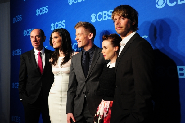 "The Cast of ""NCIS: Los Angeles"" - 014 CBS Upfront Presentation"