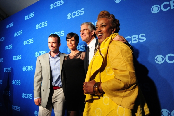 "The Cast of ""NCIS: New Orleans"" - 2014 CBS Upfront Presentation"