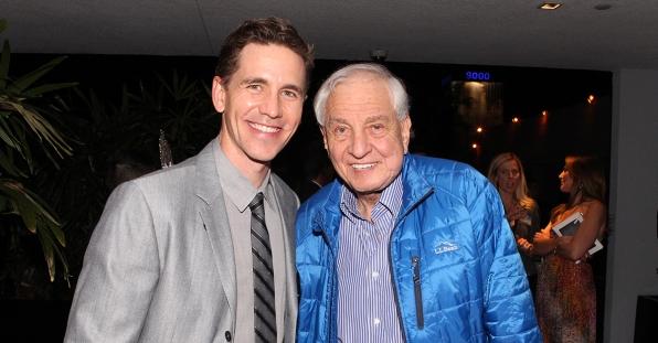 Brien Dietzen and Garry Marshall at the CBS Summer Soiree