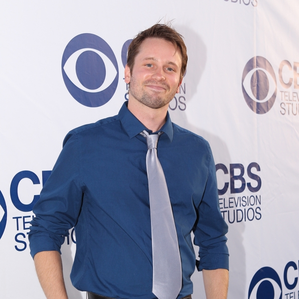 Tyler Ritter on the CBS Summer Soiree Red Carpet