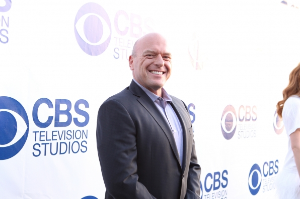 Dean Norris on the Red Carpet