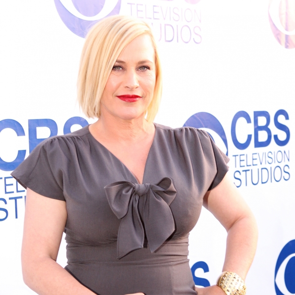Patricia Arquette on the CBS Summer Soiree Red Carpet