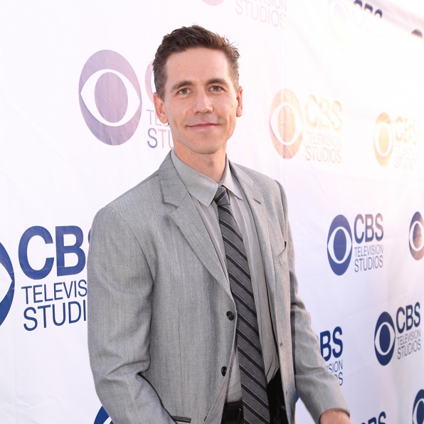Brian Dietzen on the CBS Summer Soiree Red Carpet