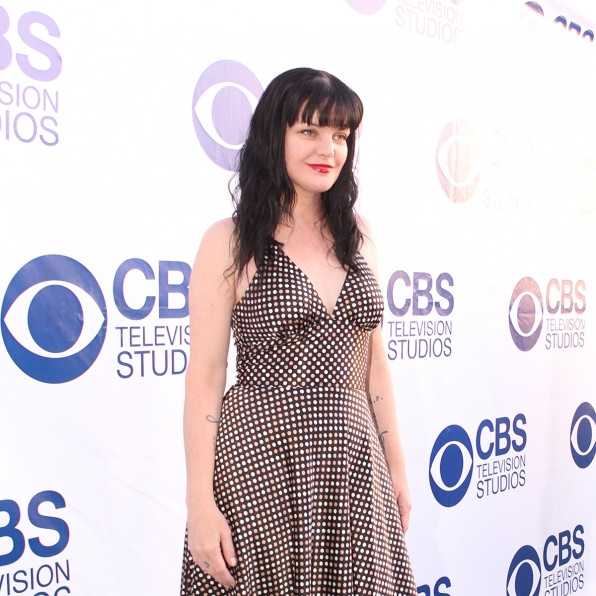 Pauley Perrette on the CBS Summer Soiree Red Carpet
