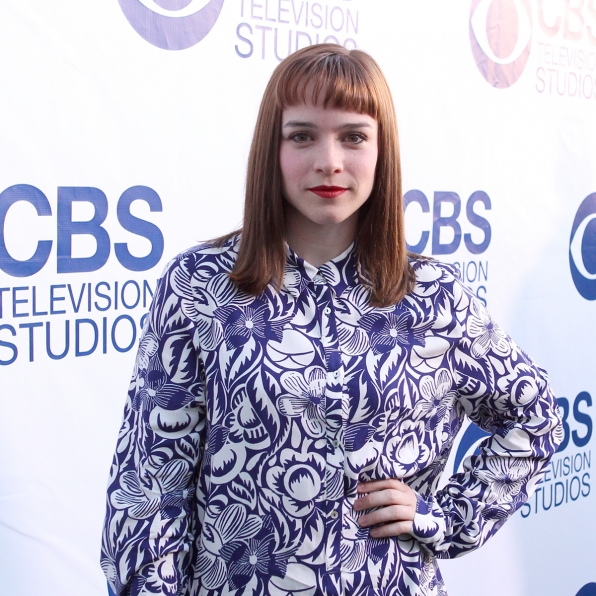 Renee Felice Smith on the CBS Summer Soiree Red Carpet