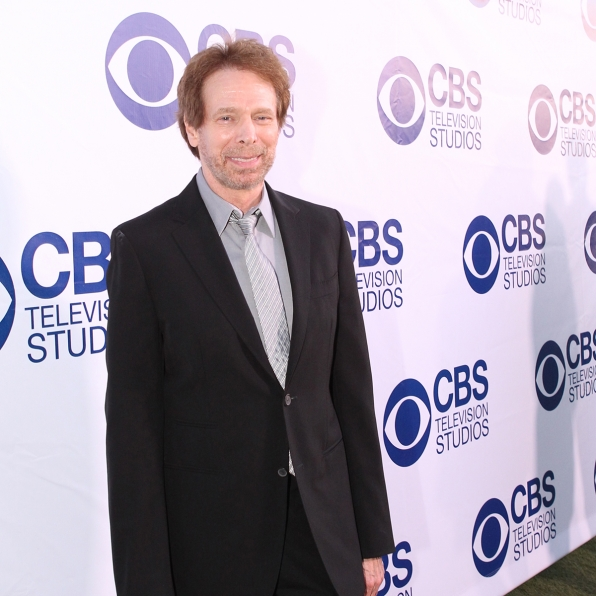 Jerry Bruckheimer on the CBS Summer Soiree Red Carpet