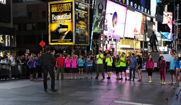 The Amazing Race in Times Square