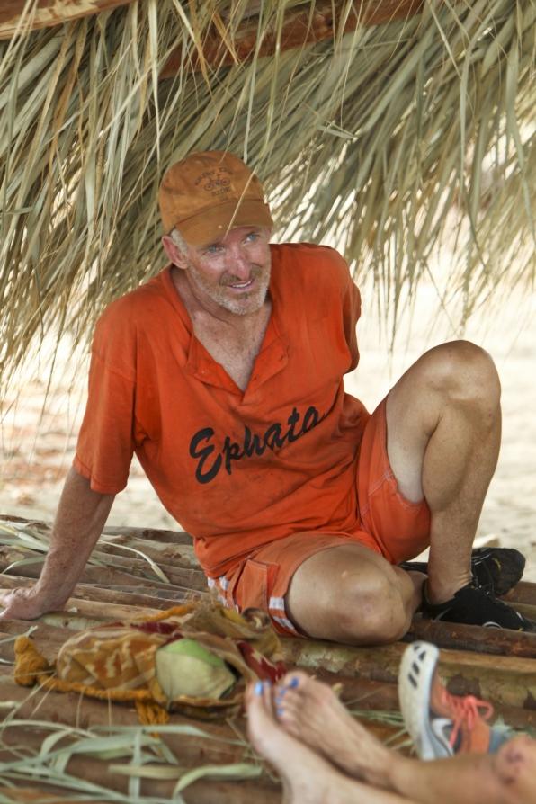 Dale at camp