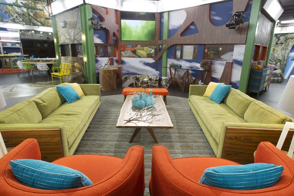 Big Brother House s Living Room
