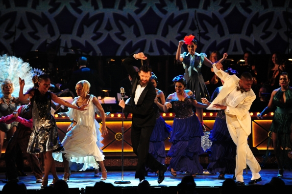 2. Tap Dancing With The Cast of After Midnight