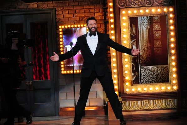 Tony Award-winning actor Hugh Jackman hosts - 2014 Tony Awards