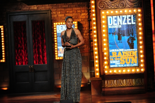 Winner Best Performance by an Actress in a Featured Role in a Play Sophie Okonedo for A Raisin in the Sun