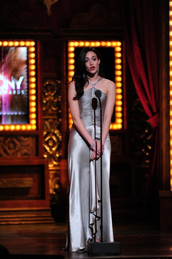Emmy Rossum - 2014 Tony Awards