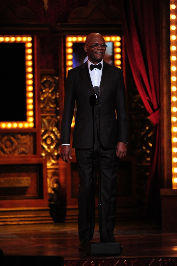 Samuel L. Jackson - 2014 Tony Awards