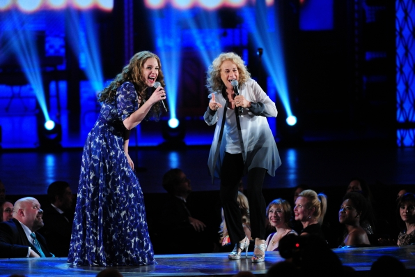 10. Jessie Mueller and Carole King Duet - Tony's Unforgettable Moments