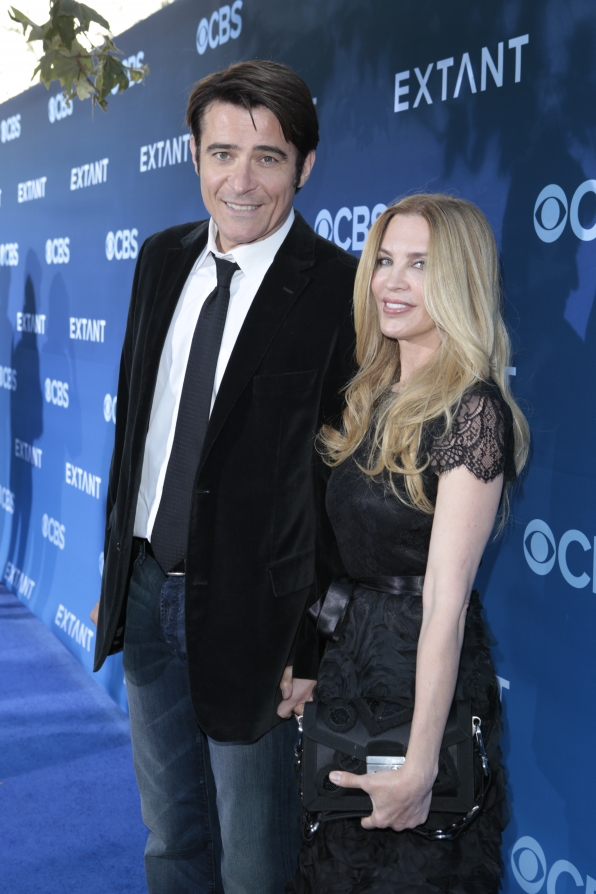 Goran Visnjic and Ivana Vrdoljak - Extant Premiere Red Carpet