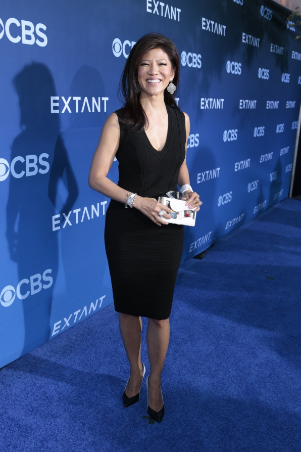 Julie Chen - Extant Premiere Red Carpet