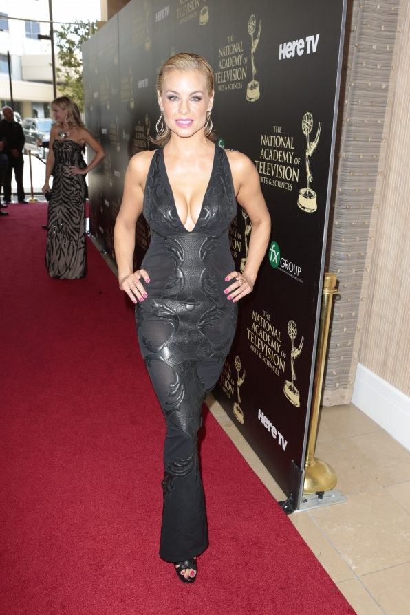 Jessica Collins - Daytime Emmy Awards Red Carpet