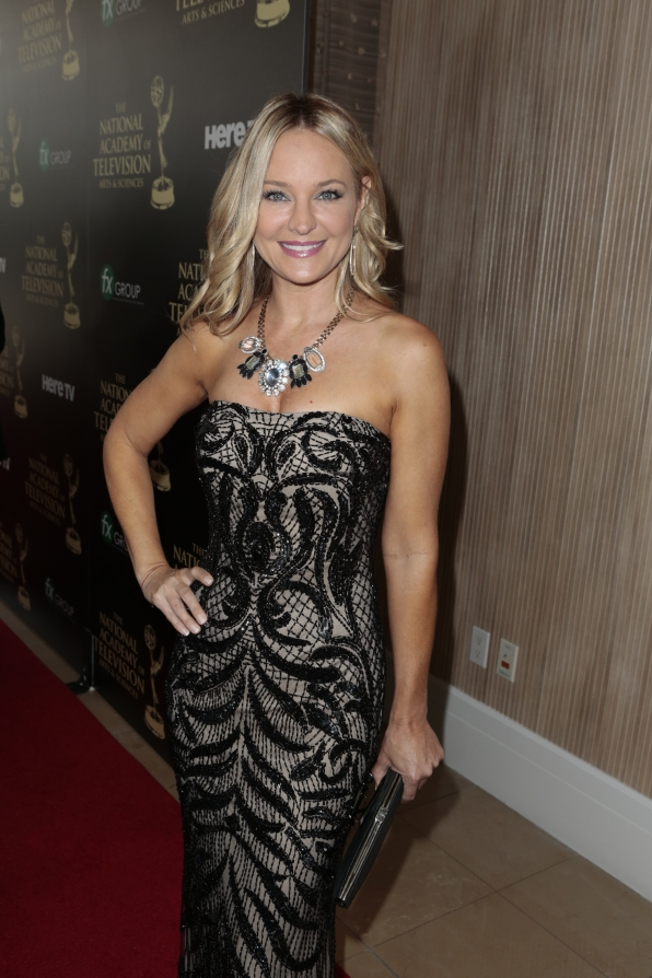 Sharon Case - Daytime Emmy Awards Red Carpet
