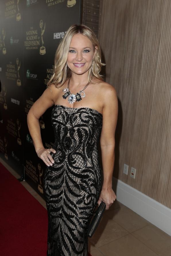 Sharon Case - Daytime Emmy Awards Red Carpet