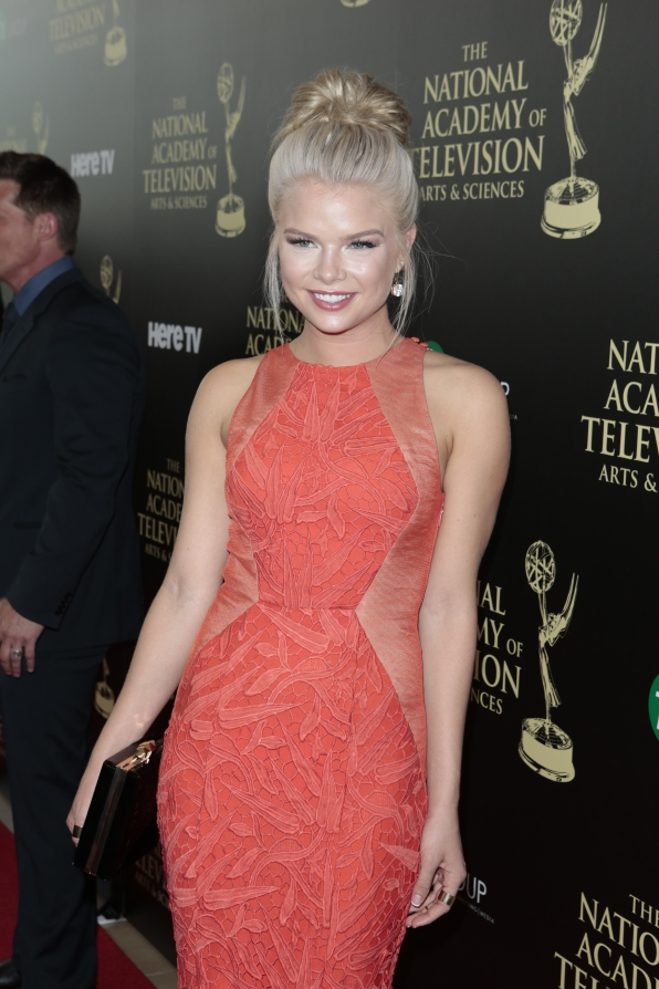 Kelli Goss - Daytime Emmy Awards Red Carpet