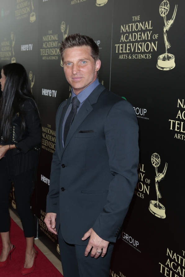 Steve Burton - Daytime Emmy Awards Red Carpet