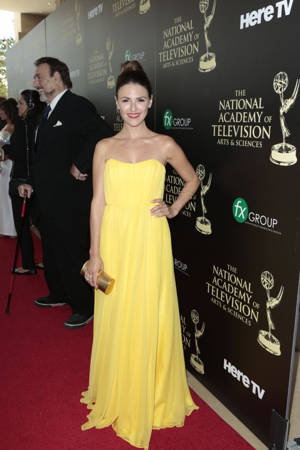 Elizabeth Hendrickson - Daytime Emmy Awards Red Carpet