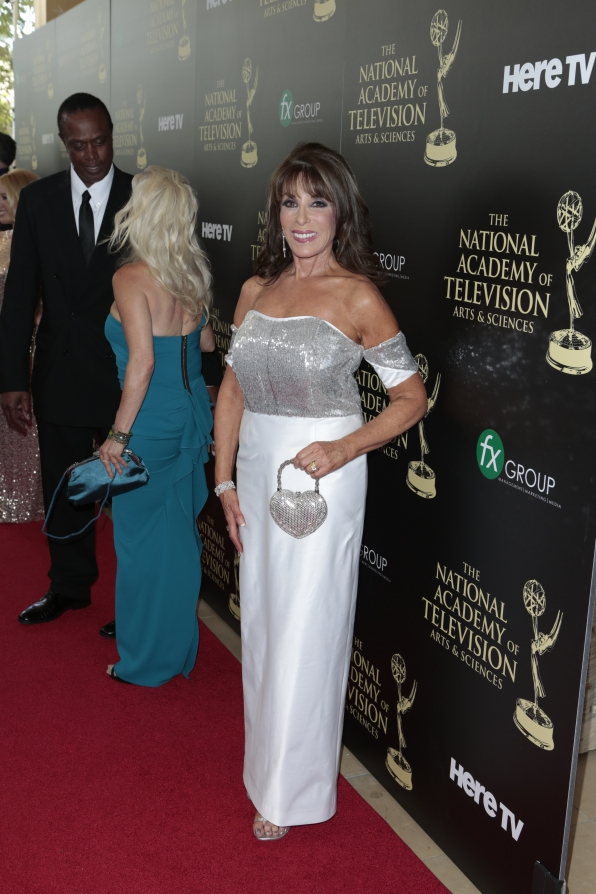 Kate Linder - Daytime Emmy Awards Red Carpet