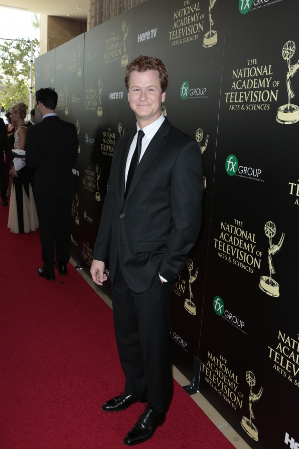Jonathan Mangum - Daytime Emmy Awards Red Carpet