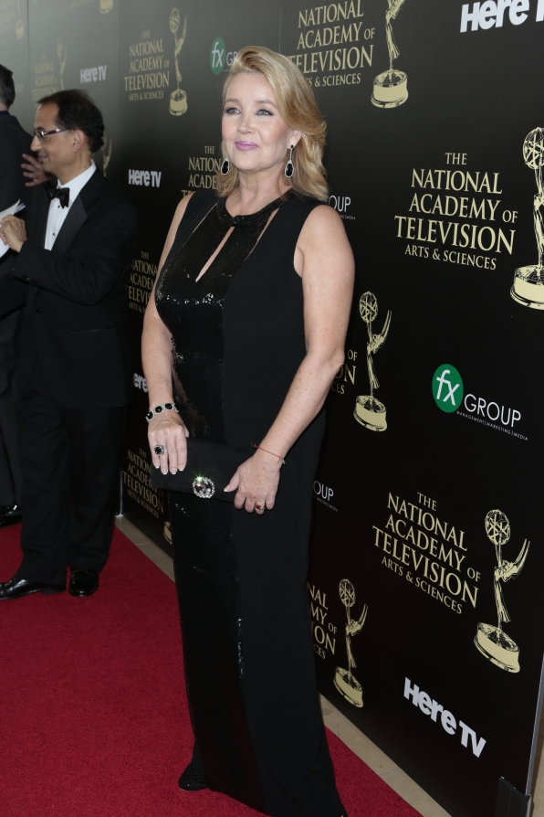 Melody Thomas Scott - Daytime Emmy Awards Red Carpet