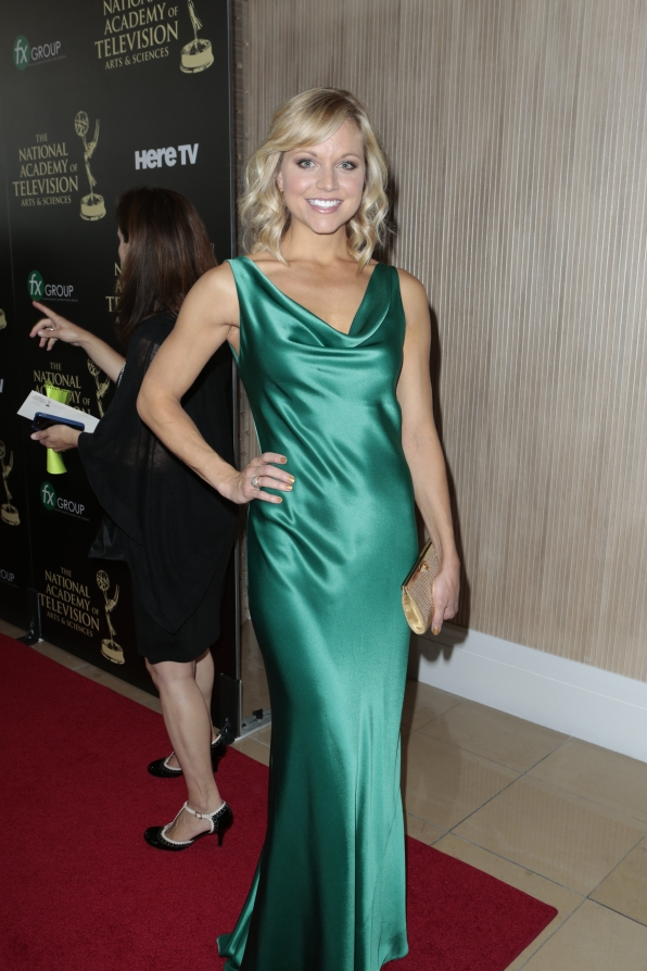 Tiffany Coyne - Daytime Emmy Awards Red Carpet