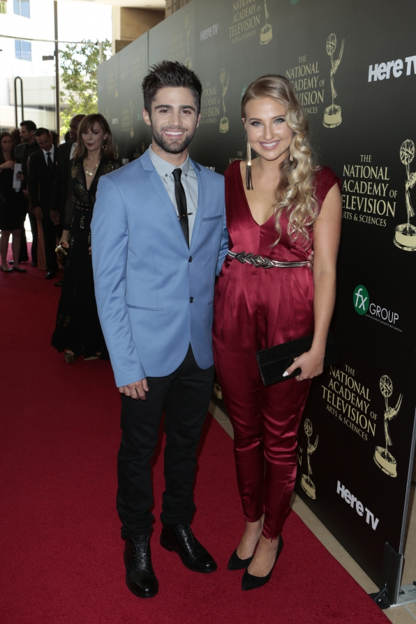 Max Ehrich - Daytime Emmy Awards Red Carpet