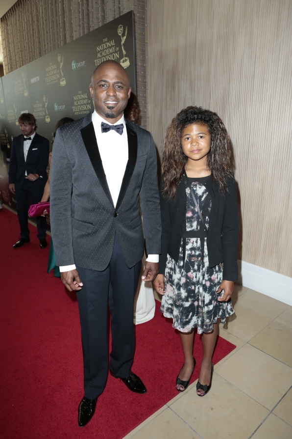 Wayne Brady and Maile Masako Brady - Daytime Emmy Awards Red Carpet