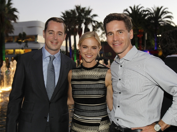 Sean Murray, Emily Wickersham and Brian Dietzen - NCIS
