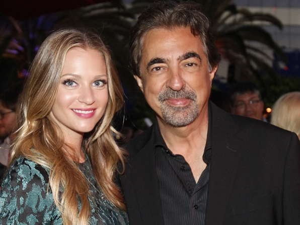 A.J. Cook and Joe Mantegna - Criminal Minds