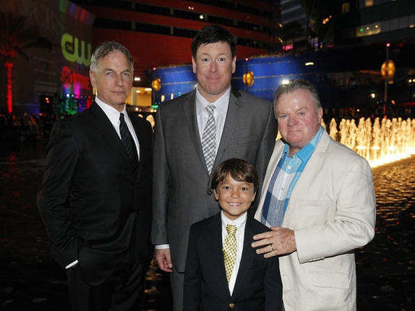 Mark Harmon, Jimmy Dunn, Jack McGee and Pierce Gagnon - NCIS, The McCarthys and Extant