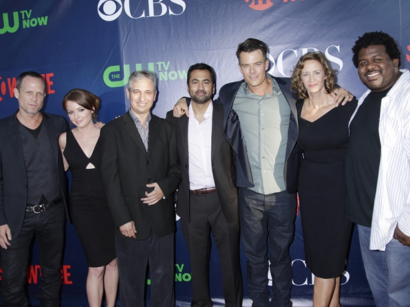 Dean Winters, Aubrey Dollar, David Shore, Kal Penn, Josh Duhamel, Janet McTeer and Edward Fordham Jr. - Battle Creek