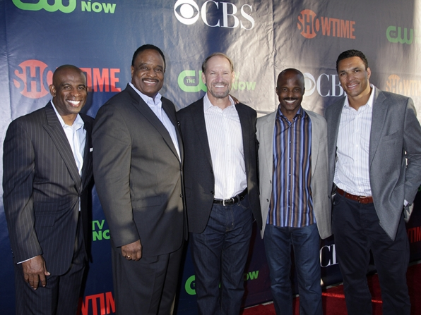 Deion Sanders, James Brown, Bill Cowher, Mike Carey and Tony Gonzalez - The NFL Today