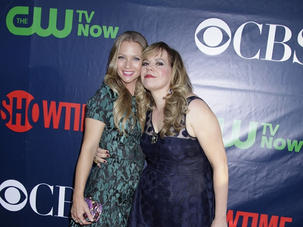 A.J. Cook and Kirsten Vangsness - Criminal Minds