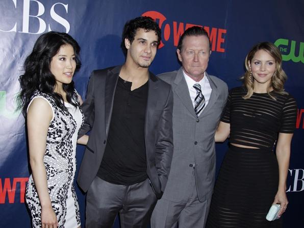 Jadyn Wong, Elyes Gabel, Robert Patrick and Katharine McPhee - Scorpion