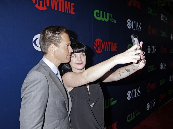 Michael Weatherly and Pauley Perrette - NCIS